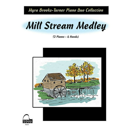 SCHAUM Mill Stream Medley (2 Pianos) Educational Piano Series Softcover](Halloween Piano Medley)