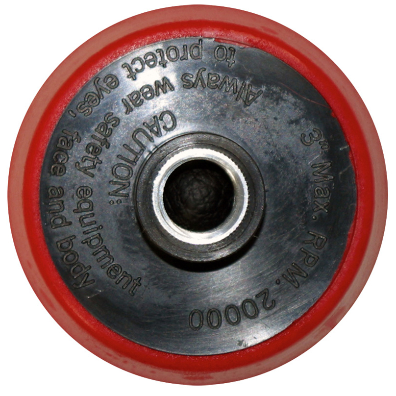 """SM Arnold (69-083) 3"""" Micro Hook Backing Plate with 5/8""""-11 Thread"""