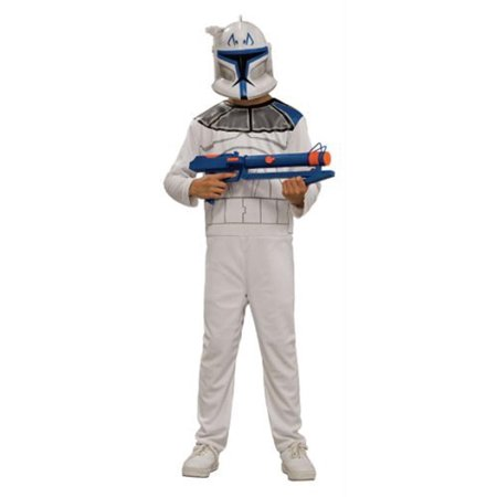 Star Wars Clone Trooper Rex Costume Child Medium](Diy Clone Trooper Costume)
