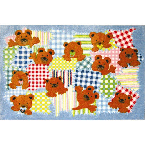 Fun Rugs Supreme Patches Bear Area Rug