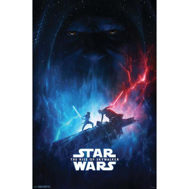 Star Wars The Rise Of Skywalker Officially Licensed One Sheet Poster And Poster Clip Bundle Walmart Com Walmart Com