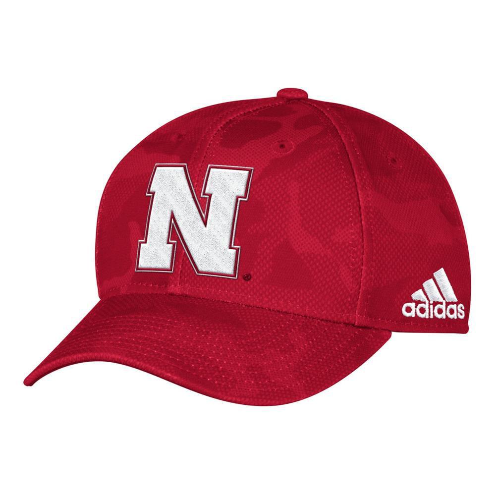 4501bcdb709b3 ... reduced nebraska cornhuskers tonal camo hat adidas structured cap 22e18  80dd6