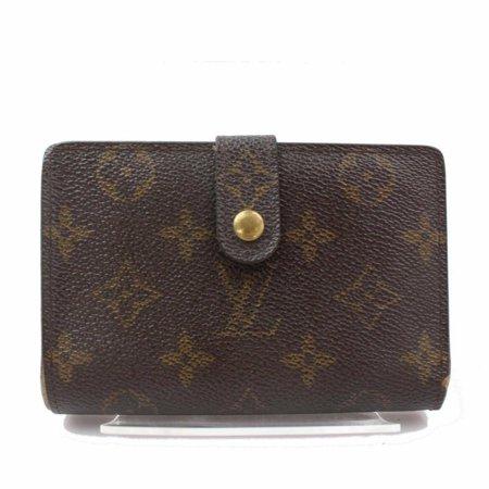 Louis Vuitton Monogram Viennois Kisslock French Twist Wallet 870985