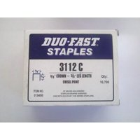 "Duo Fast 3112C 3/8"" Crown X 3/8"" Staple"