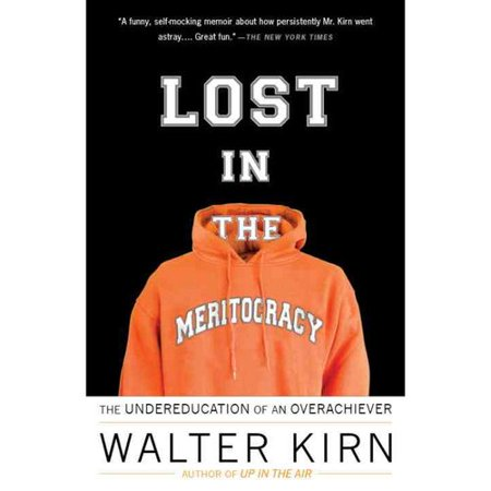 """lost in the meritocracy essay Cover letter prof sands, this letter in regards to my first writing project for your class should hopefully provide you with a summary and review of the article """"lost in the meritocracy"""" by walter kirn."""