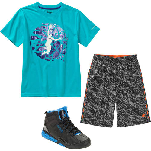 And1 Boys' Activewear Mix and Match Complete Outfit Value Bundle
