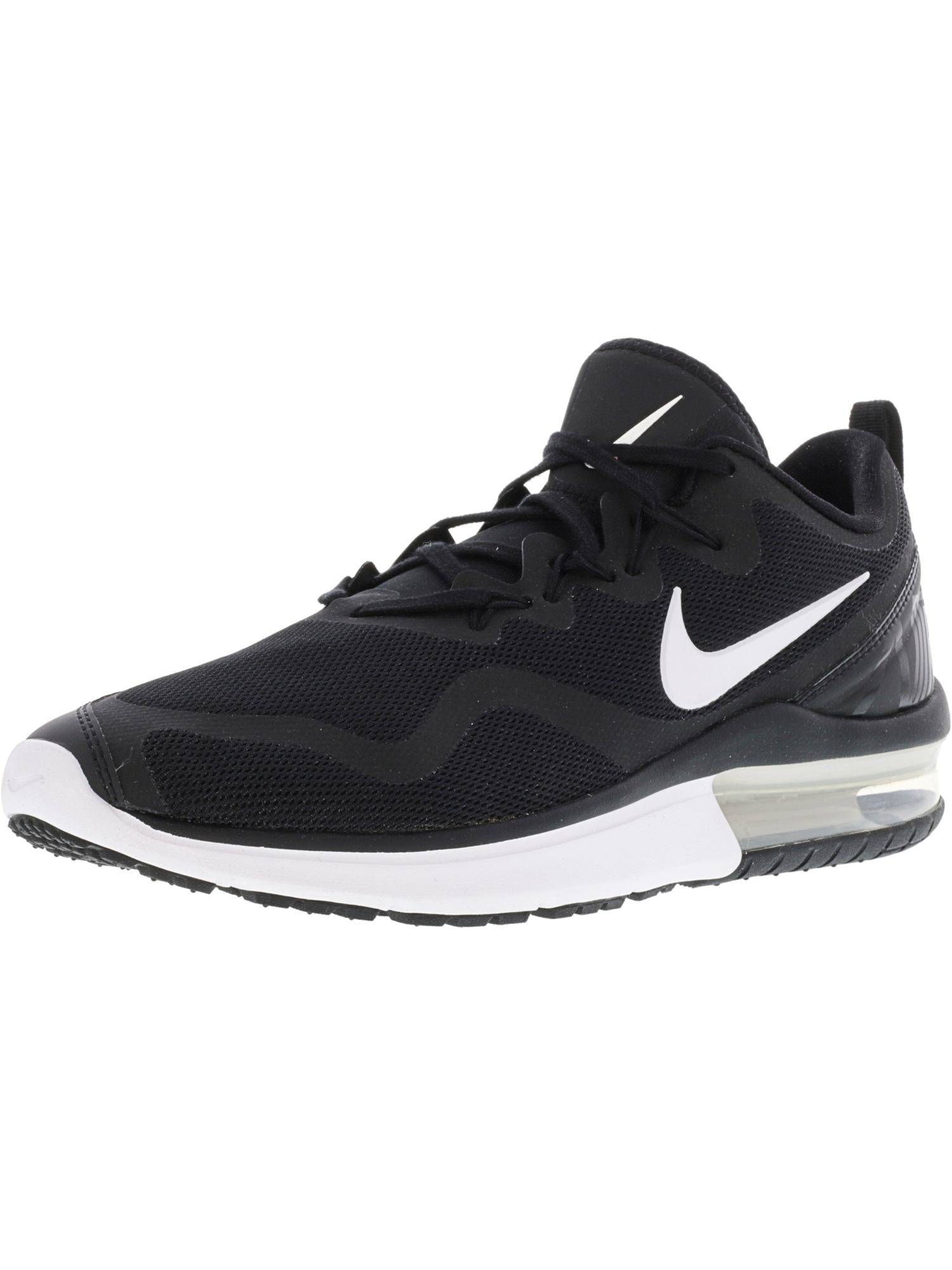Nike Women's Air Max Fury Black / White-Black Low Top Cross Trainer Shoe - 9.5M