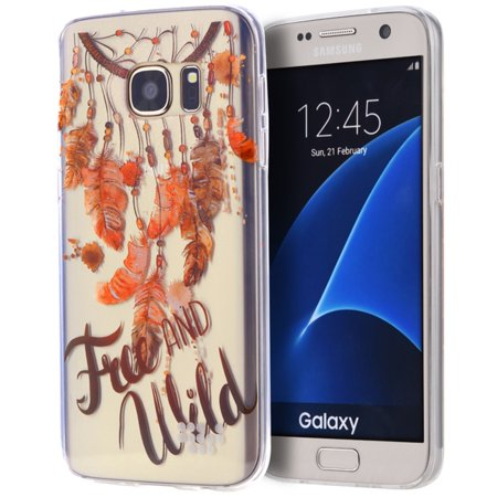 Samsung Galaxy S7 Case, by Insten Free  wild TPU Water Color IMD Rubber Skin Shell Case For Samsung Galaxy S7 - (Samsung Galaxy S4 Water Damage Indicator Color)