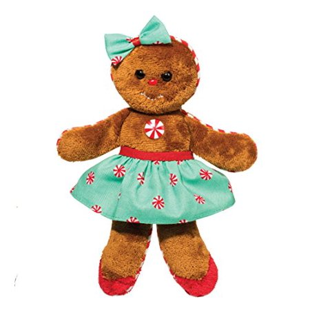 Ginger Bread Girl with Green Dress 8
