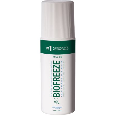 Biofreeze Cold Therapy Pain Relief Roll-On, 2.5 FL (Natra Bio Cold Sores Relief)
