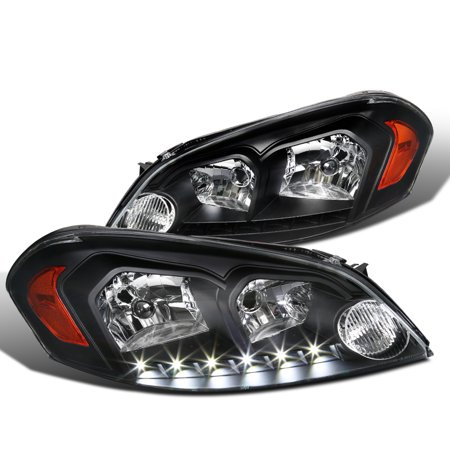 - Spec-D Tuning 2006-2013 Chevy Chevrolet Impala Limited Monte Carlo Black Clear Smd Led Headlights (Left + Right) 06 07 08 09 10 11 12 13