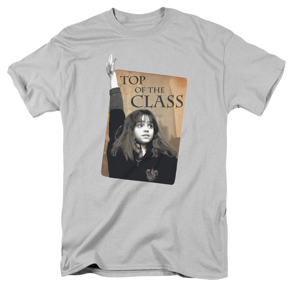 Trevco HARRY POTTER HARRY POTTER Silver Adult Unisex T-Shirt