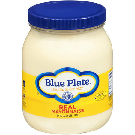 Blue Plate Real Mayonnaise, 64 Fl. Oz,