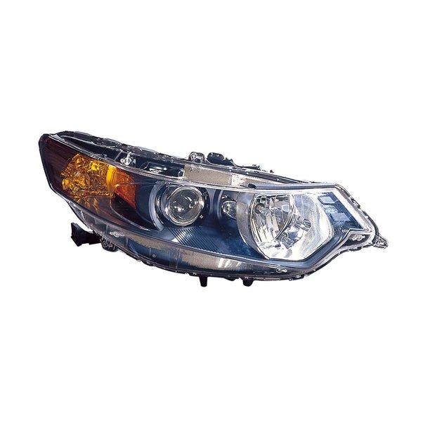 For Acura TSX Sedan 09-14/Sport Wagon 11-14 Headlight