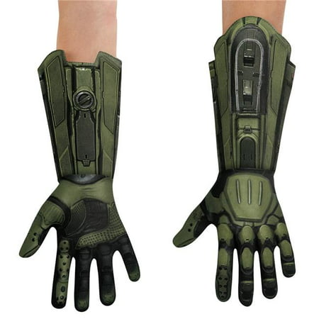 Morris Costumes DG89997AD Master Chief Gloves Adult Costume (Master Chief Gloves)