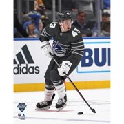Quinn Hughes Vancouver Canucks Unsigned 2020 NHL All-Star Game Photograph