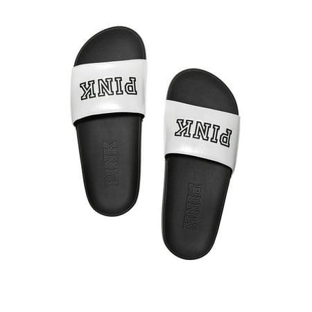 c6c5eb9f4062b Victoria s Secret - Victoria s Secret PINK Crossover Comfort Slide Sandals  Shoes - Walmart.com