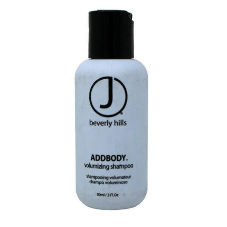 J Beverly Hills AddBody Volumizing Shampoo 3 Ounce Beverly Hills Control Shampoo