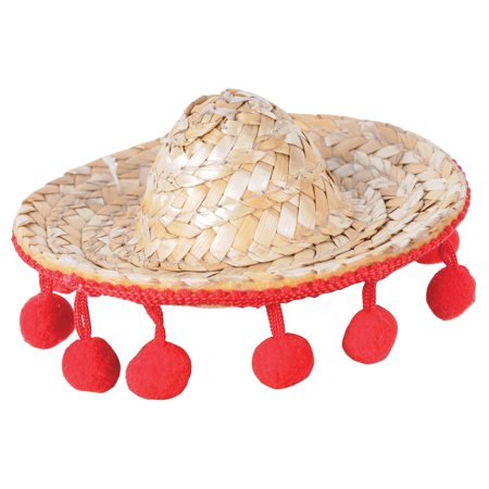 Sombrero Hair Clip Adult Halloween Accessory - Custom Sombrero