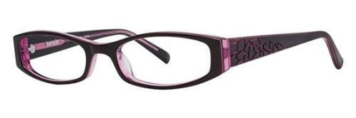 KENSIE Eyeglasses ARTSY Burgundy