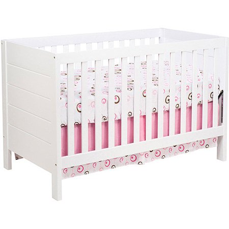 Baby Mod Modena 3-in-1 Convertible Crib White