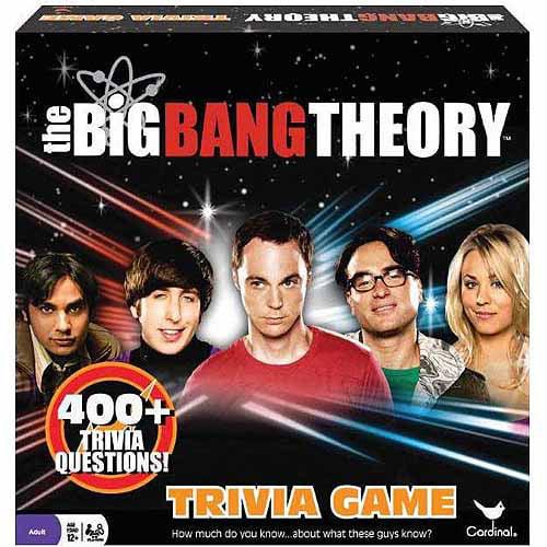 Cardinal The Big Bang Theory Trivia Board Game