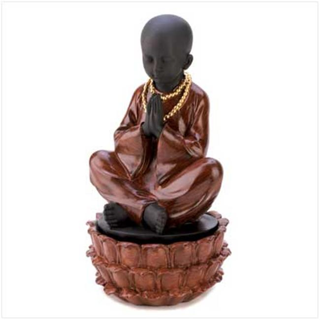 Sunrise Wholesale 12643 Sitting Monk Decorative Jewelry Hidden Treasure Box