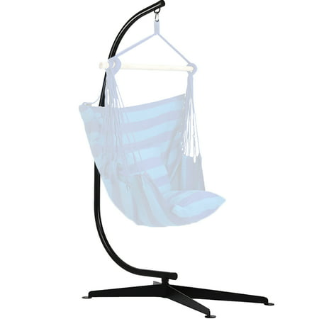 Hammock C Stand Solid Steel Construction For Air Porch Swing Chair