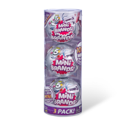 5 Surprise Mini Brands Series 3 Mystery Capsule Real Miniature Brands Collectible Toy by Zuru (3 Pack)