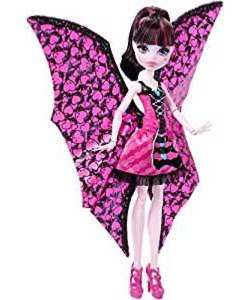 Monster High Ghoul-To-Bat Transformation Draculaura Doll by Monster High