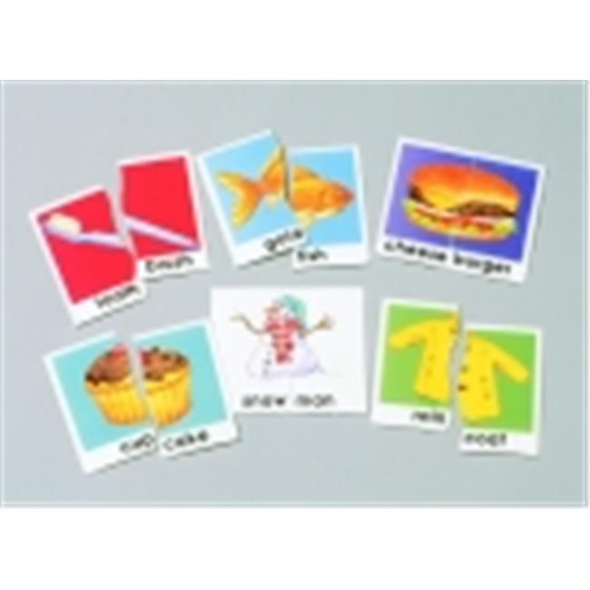 Didax Compound Words Matching Puzzle Card Set, Set 30
