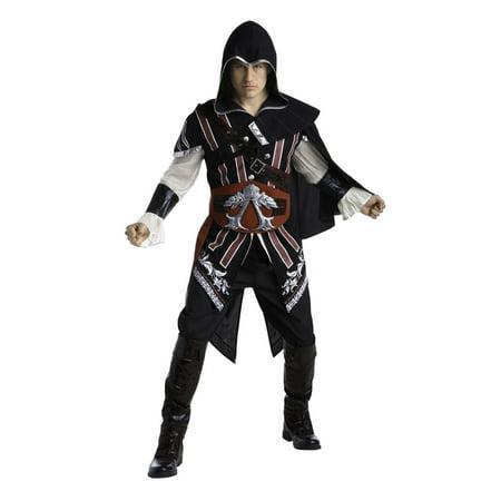 Assasin'S Creed - Ezio Auditore Deluxe Adult Halloween Costume](Assassin's Creed Halloween Costume Ezio)