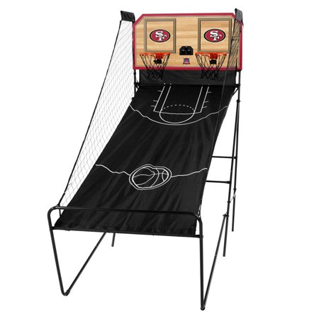 San Francisco 49ers Classic Court Double Shootout Basketball Game - No Size](San Antonio Spurs Basketball)