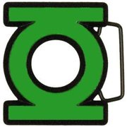 DC Comics Green Lantern Cut-Out Logo Belt Buckle