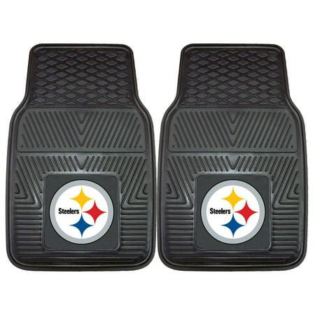 Pittsburgh Steelers 2-pc Vinyl Car Mats 17