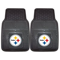 "Pittsburgh Steelers 2-pc Vinyl Car Mats 17""x27"""