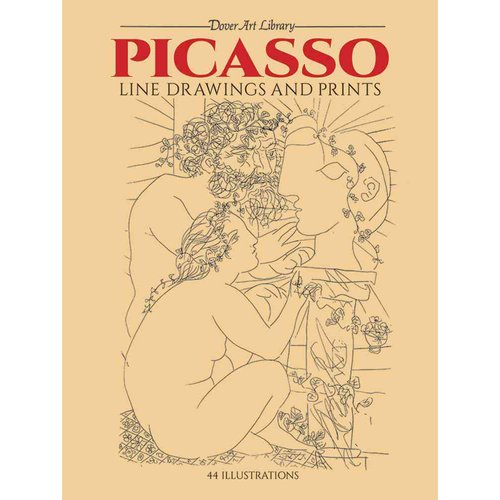 Picasso Line Drawings and Prints: 44 Works