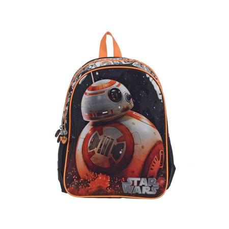 Star Wars BB-8 Backpack for Kids Full Size School Bag [Black] - Bags For Kids