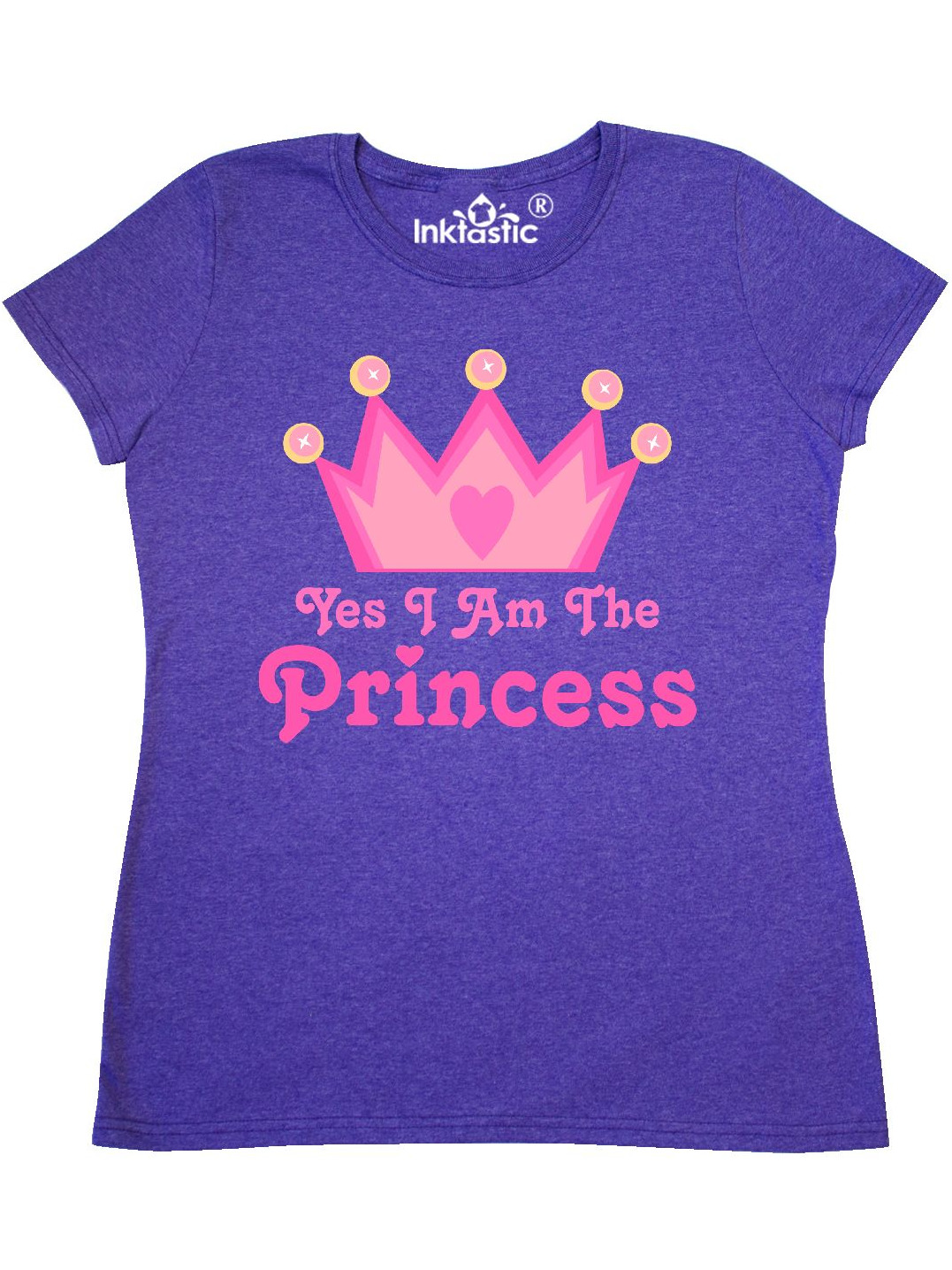 inktastic Yes I Am The Princess Crown Toddler T-Shirt