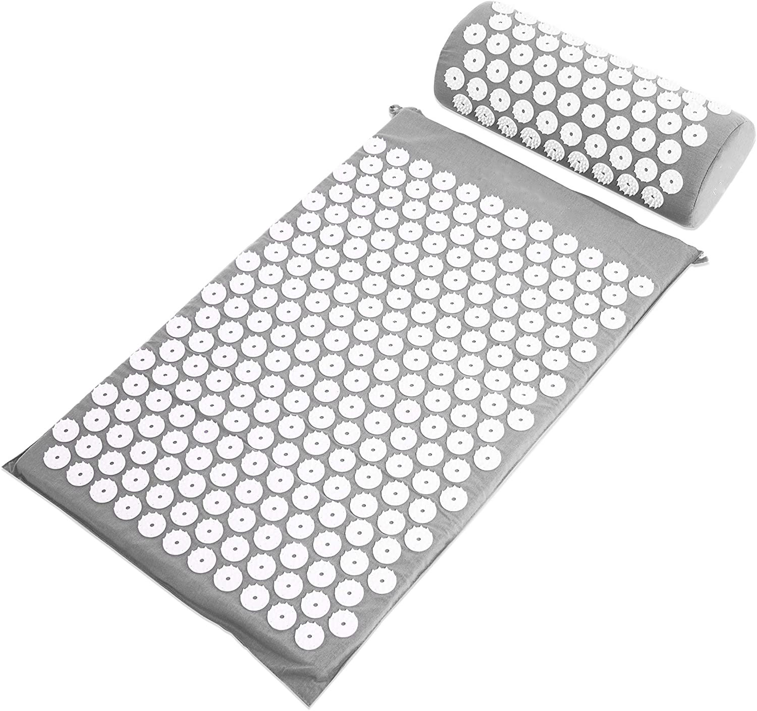 Acupressure Massager Cushion Body Pain Relieve Spike Yoga Mat with Pillow