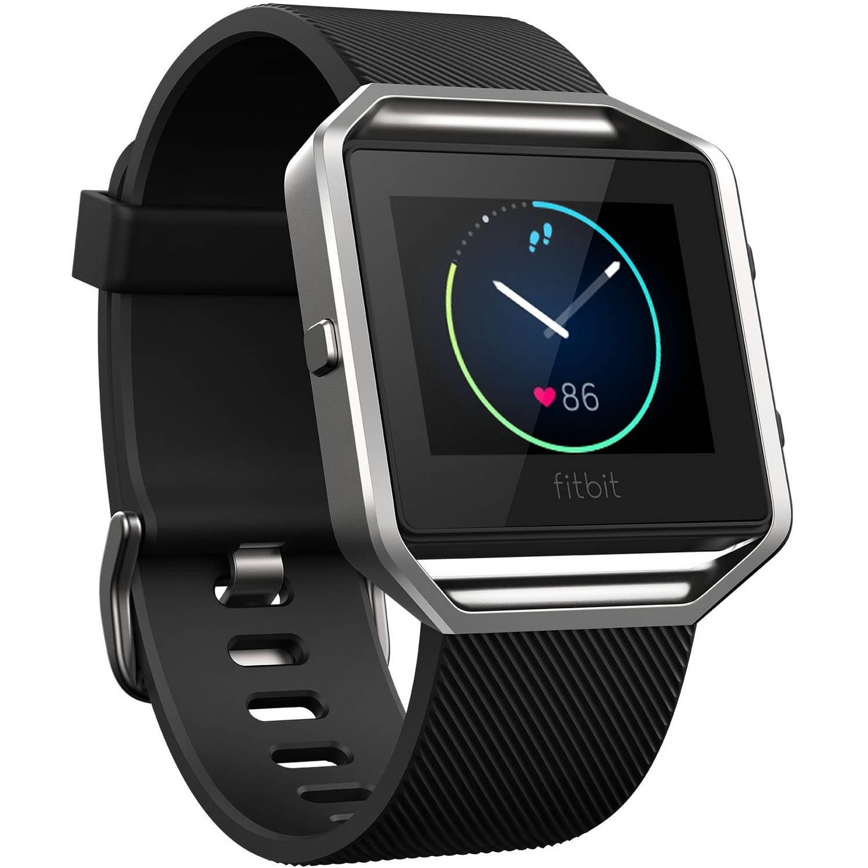 Refurbished Fitbit 8132746 Blaze Smart Fitness Watch Size, Black, Large