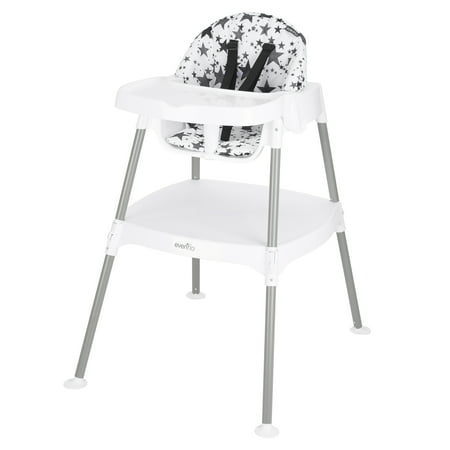 Evenflo 4-in-1 Eat & Grow Convertible High Chair, Pop