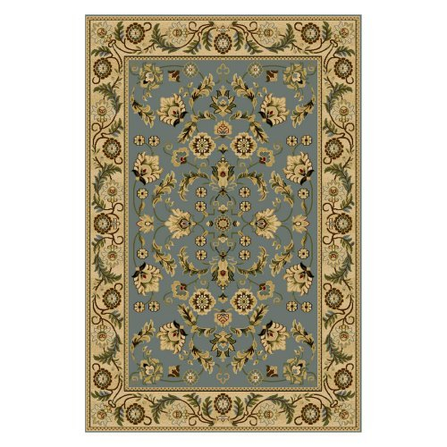 Central Oriental Interlude Cambridge Area Rug - Blue
