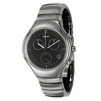 Rado Men's 'Rado True' Ceramic Chronograph Watch