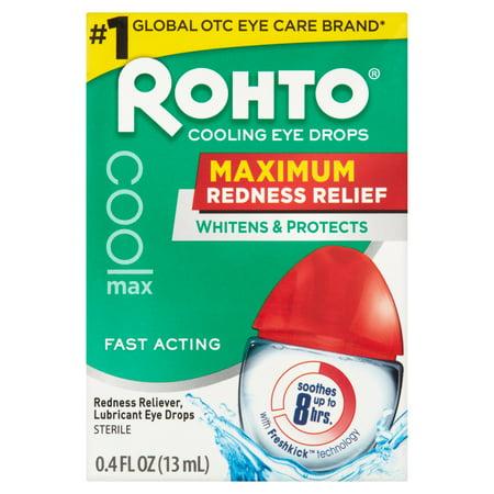 Rohto maximum Soulage de refroidissement collyre stérile 0,4 onces liquides