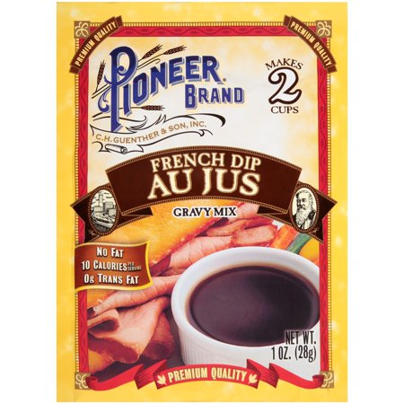 (5 Pack) Pioneer Brand French Dip Au Jus Gravy Mix, 1