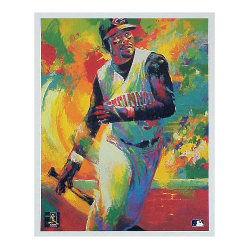 MLB - Ken Griffey Jr. Cincinnati Reds All-Star 12x18 Lithograph