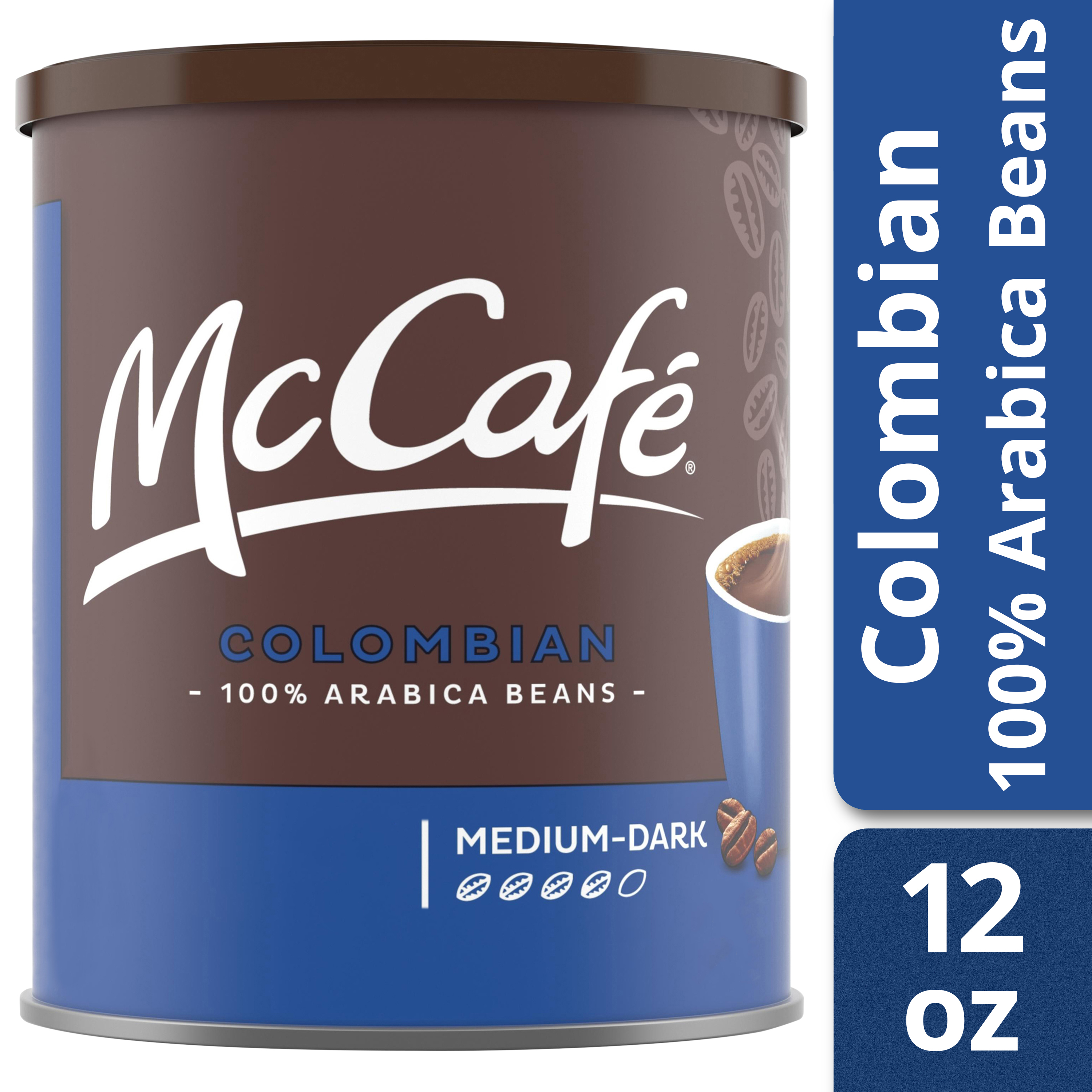 McCafé Colombian Ground Coffee 12 oz Canister