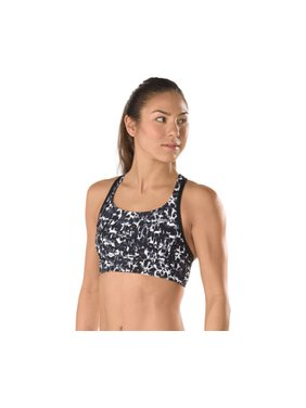 Speedo Two Piece Top PRINT AQUA ELITE