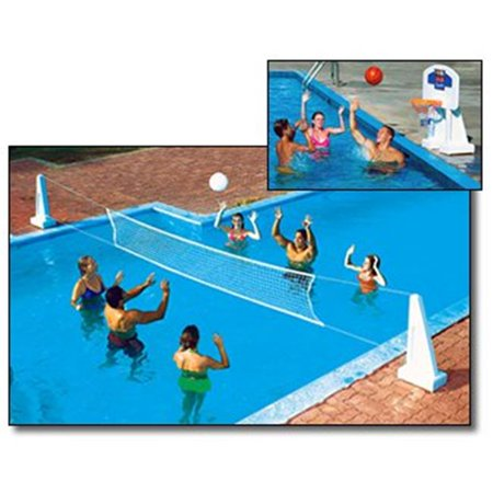 Pool Jam In-Ground Volleyball & Basketball Combo - image 1 de 1